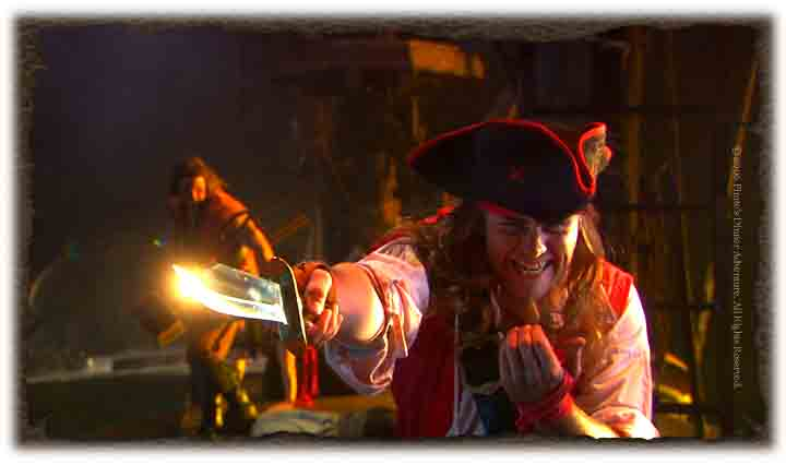 Pirates British Redcoat
